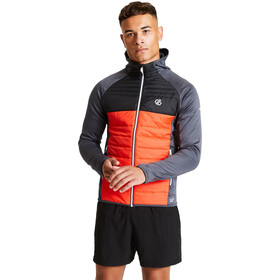 Dare 2b Coordinate Wool Hybrid Jacket Men trail blaze/black/ebony grey